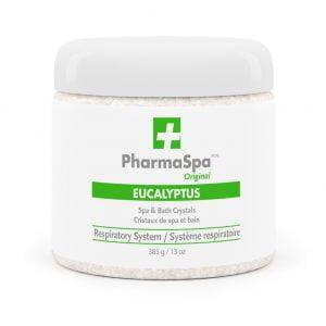 Eucalyptus Epsom salts PharmaSpa Original spa and bath Crystals