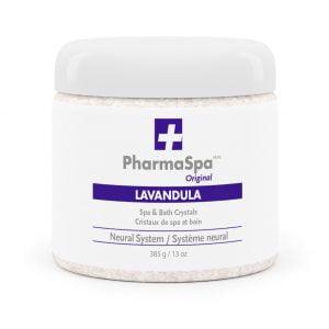 Lavandula Epsom salts PharmaSpa Original spa and bath Crystals