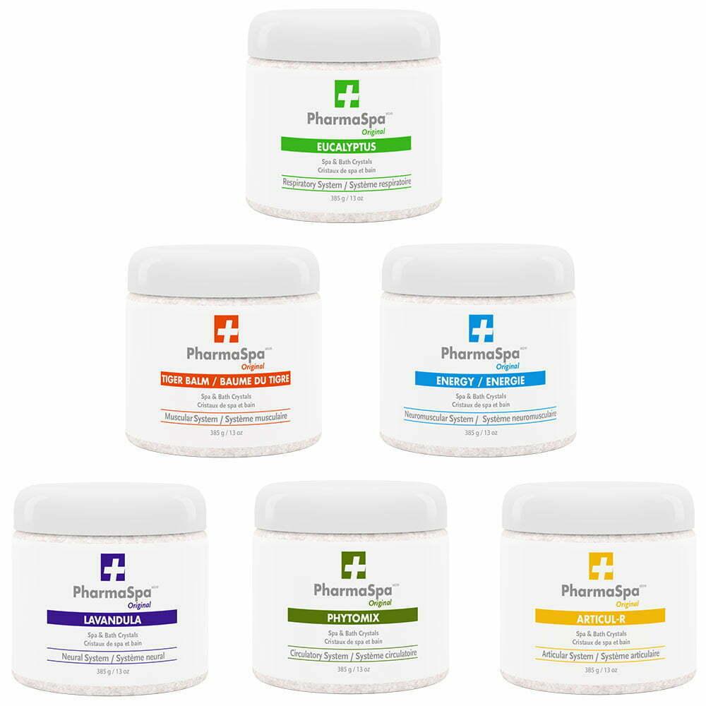 Pharmaspa original crystals products
