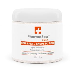 Tiger Balm Epsom salts PharmaSpa Original spa and bath Crystals