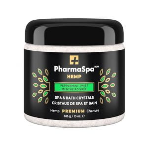 PharmaSpa Hemp Crystals Peppermint Twist