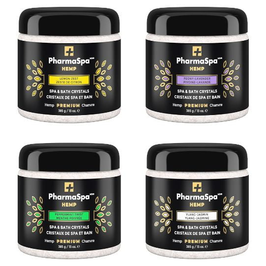 Pharmaspa hemp crystals products